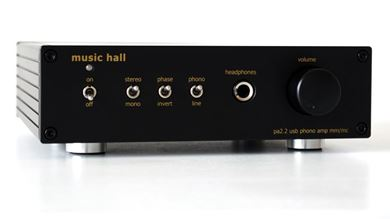 Image de Amplificateur phono music hall pa2.2 (MM/MC) avec sortie USB