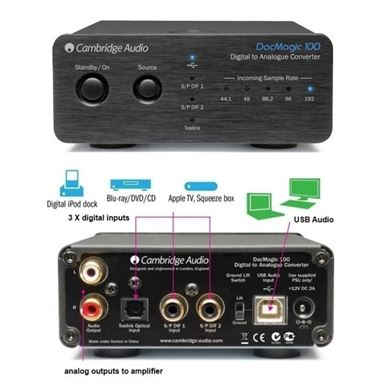 Image de Cambridge Audio DacMagic  100 DAC