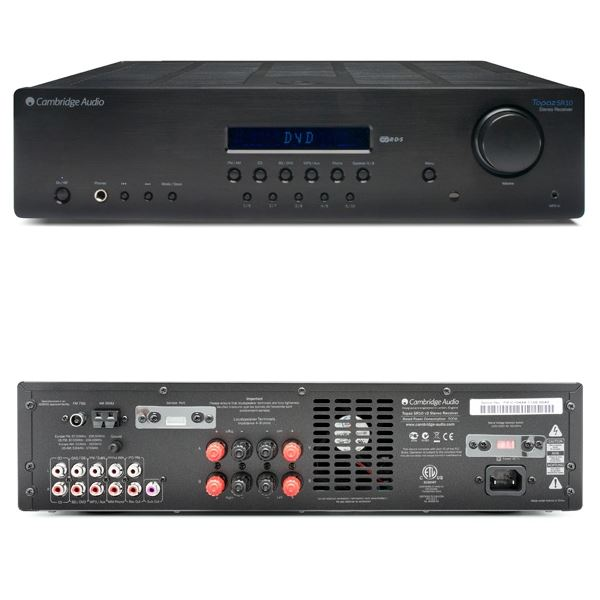 how to connect cambridge audio cxn to amplifier