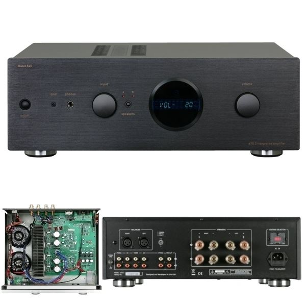 audiow3 integrated amplifier music hall a70 2. Black Bedroom Furniture Sets. Home Design Ideas