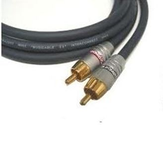 AudioW3. Straight Wire Musicable II RCA Interconnect Cables (Pair)