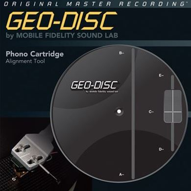 Picture of Mobile Fidelity Geo-Disc Cartridge Alignment Tool