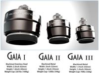 Picture of IsoAcoustics GAIA isolators for floor standing speakers (set of 4)