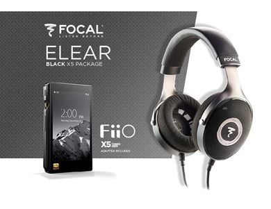 Picture of Kit Focal Elear + FiiO X5III music player