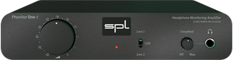Picture of SPL Phonitor One D Headphone Amplifier with DAC