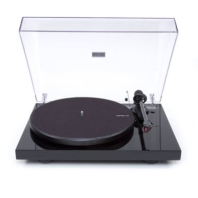 Picture of Pro-Ject Debut Carbon DC turntable / Black / 2M-Red